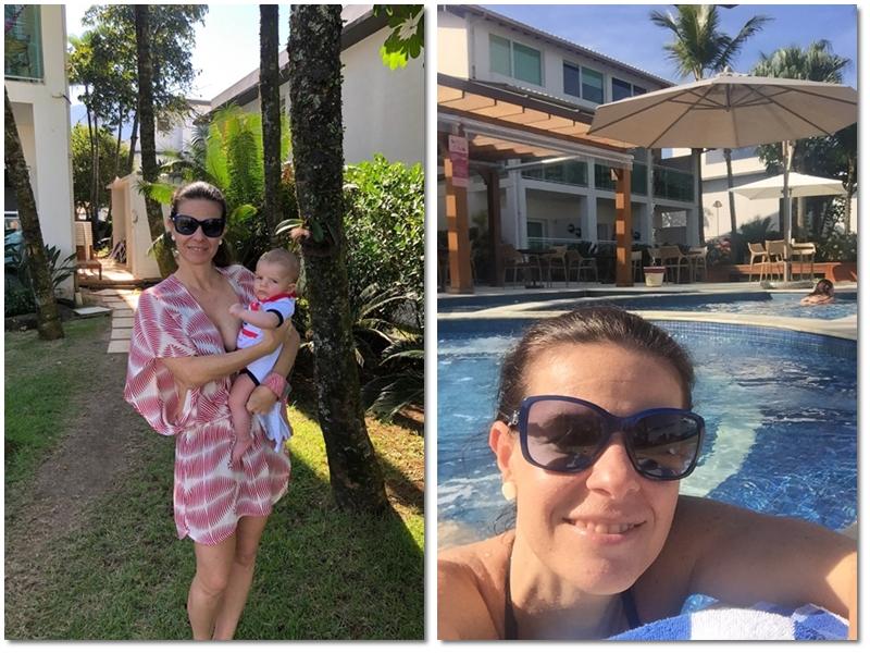 Amora Hotel - jardim e piscina