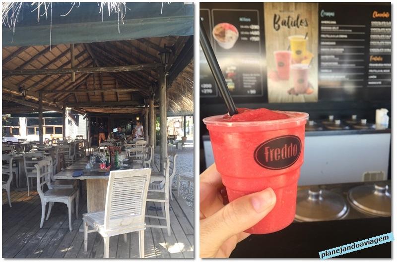 Restaurante e Freddo na Praia de Solanas-Portezuelo