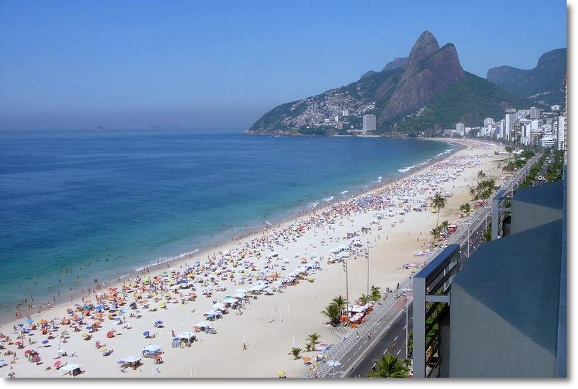 Praia do Leblon - Rio de Janeiro (foto: guialeblon.com.br)