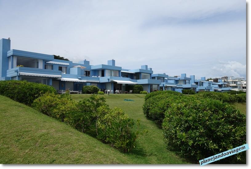 Manantiales - casas em frente a Bikini Beach