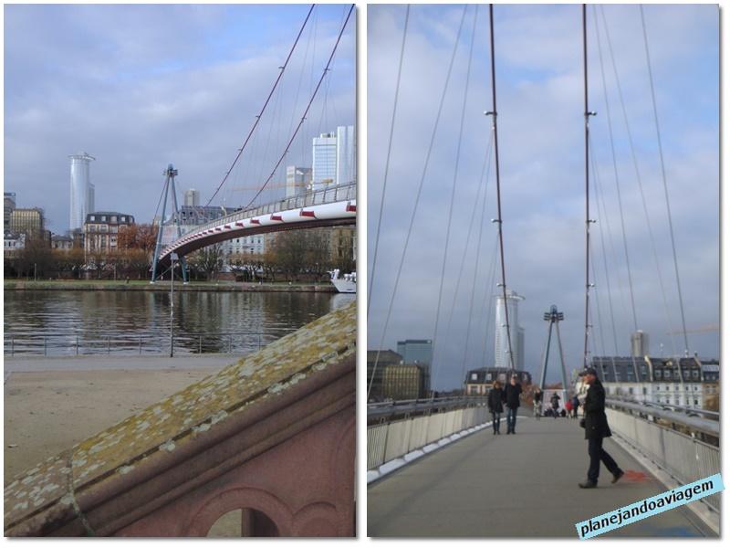 Frankfurt - Ponte Holbeinsteg