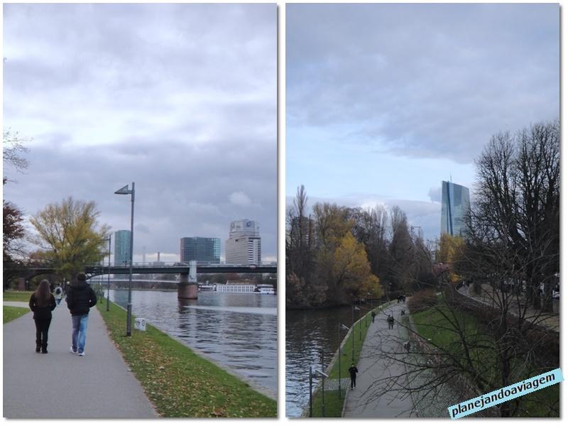Frankfurt - Rio Meno - Mainkai