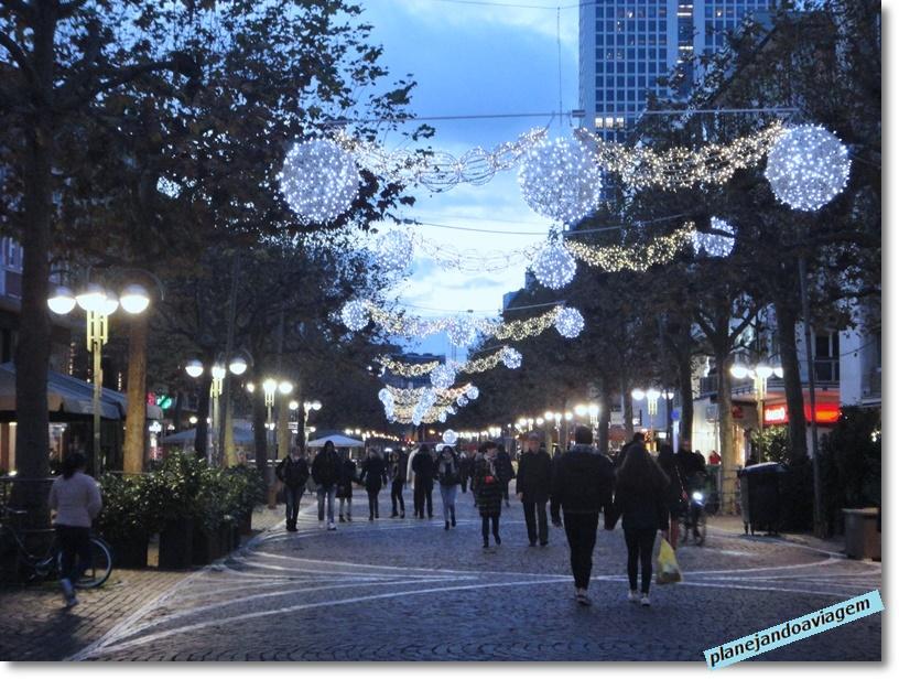 Frankfurt - decoração natalina