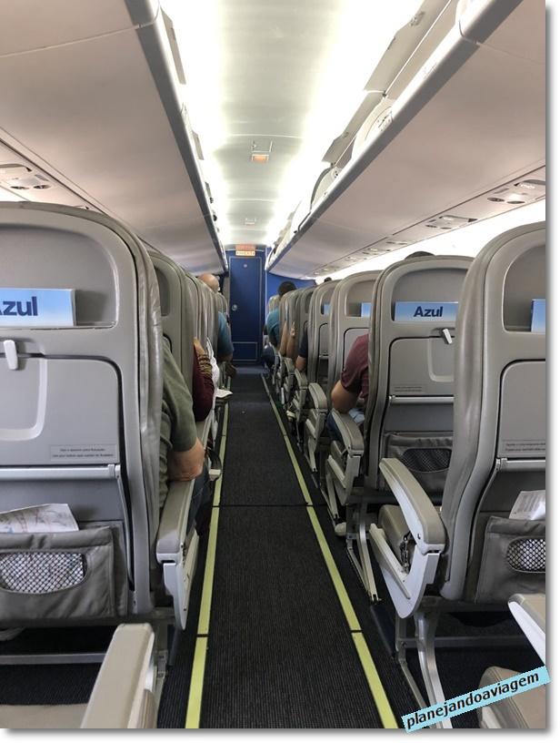 ATR-72 - Interior da aeronave