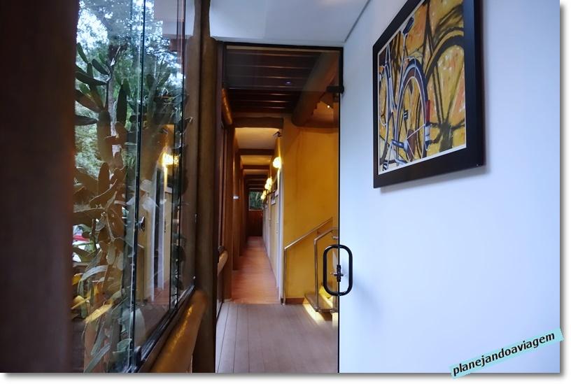 Kalango Hotel Boutique em Ilhabela - corredor