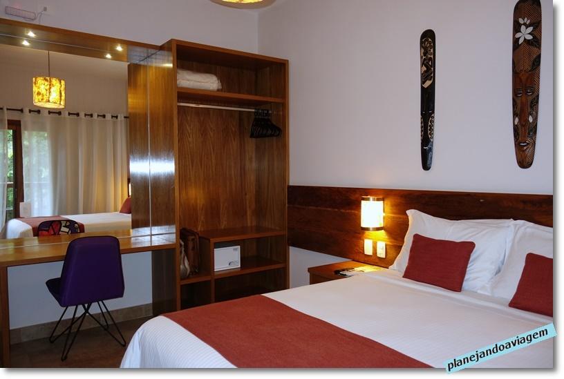 Kalango Hotel Boutique em Ilhabela - quarto