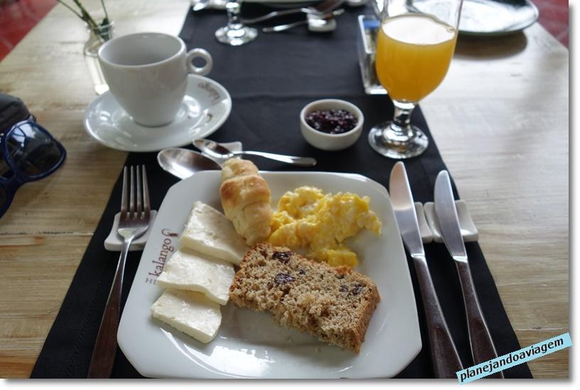 Kalango Hotel Boutique em Ilhabela - café da manhã