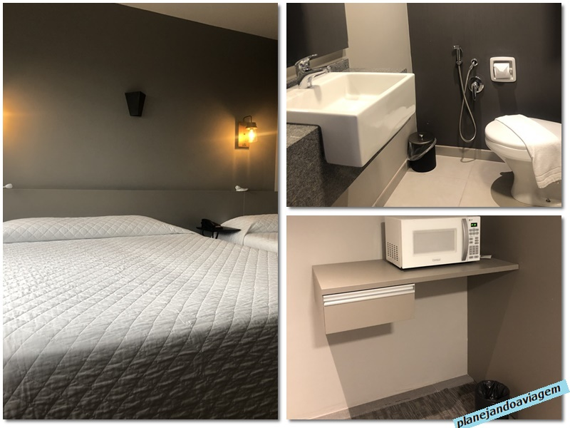 Quarto, Banheiro e espaco especial no Hotel Dall Onder Ski em Garibaldi