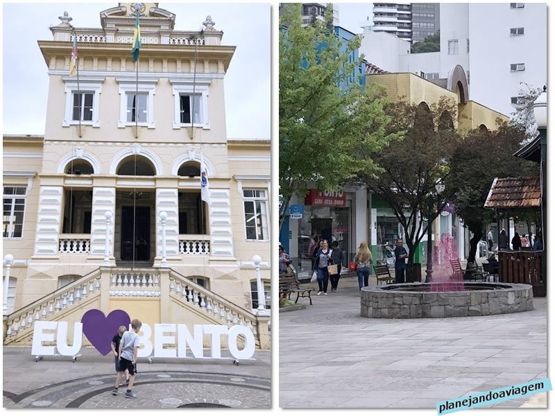 Bento Goncalces - centro- Prefeitura e Chafariz do Vinho