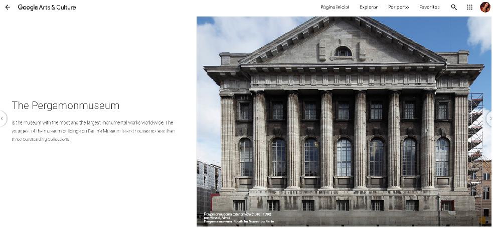 Visita Virtual ao Pergamonmuseum