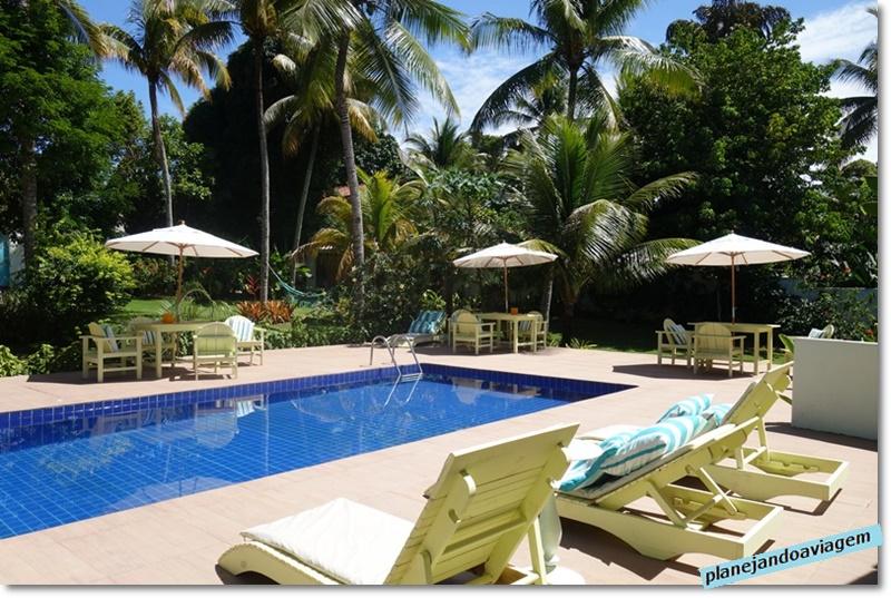 Trancoso - Villa Bahia - area piscina