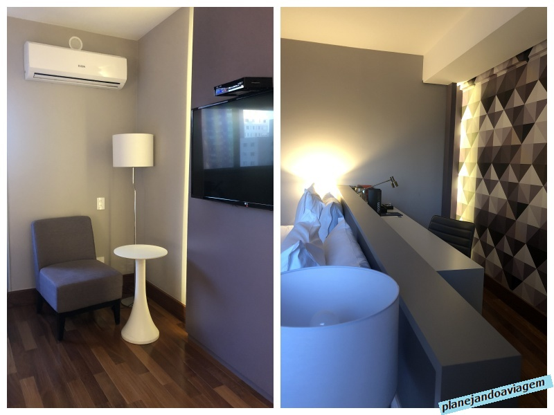 Detalhes do quarto NH The Five em Curitiba