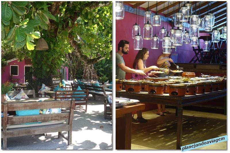Trancoso - Restaurante Rabanete - aerea externa e interna