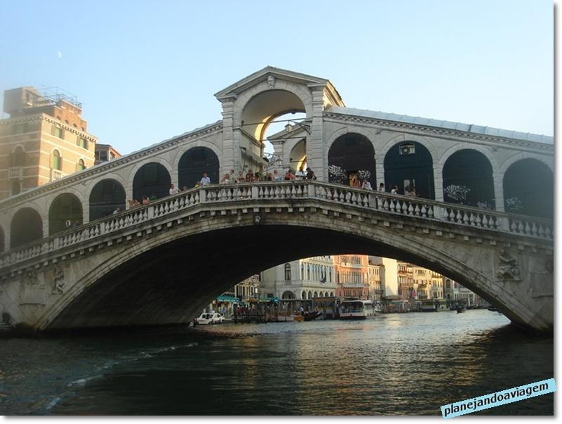 Veneza - Ponte do Rialto