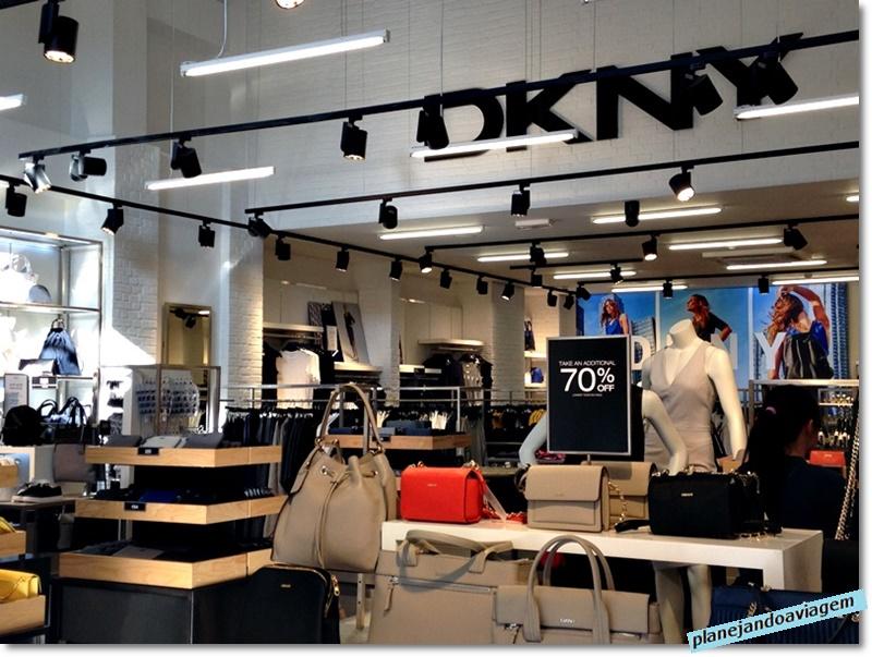Kildare Village - loja DKNY