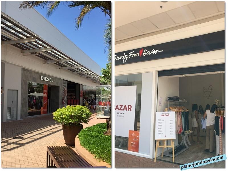 Catarina Fashion Outlet - loja Diesel e loja temporaria Twenty Four Seven