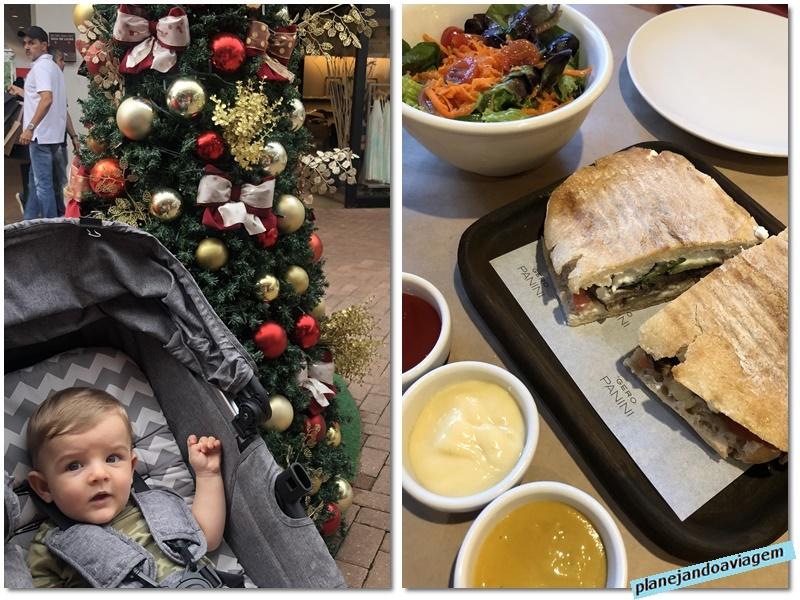Catarina Fashion Outlet - Visita no Natal com almocinho no Gero