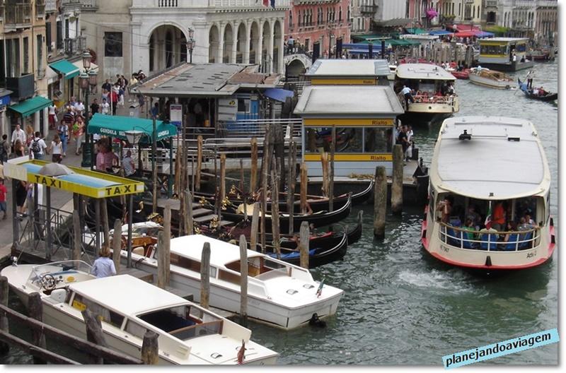Meios de transporte em Veneza