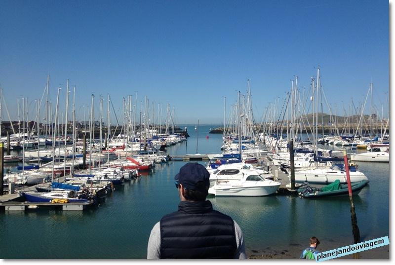 Howth - porto e barcos