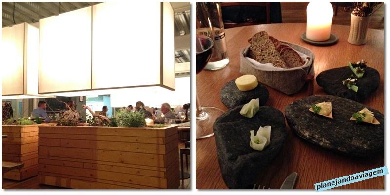 Restaurante Loam em Galway - ambientes e entradinhas