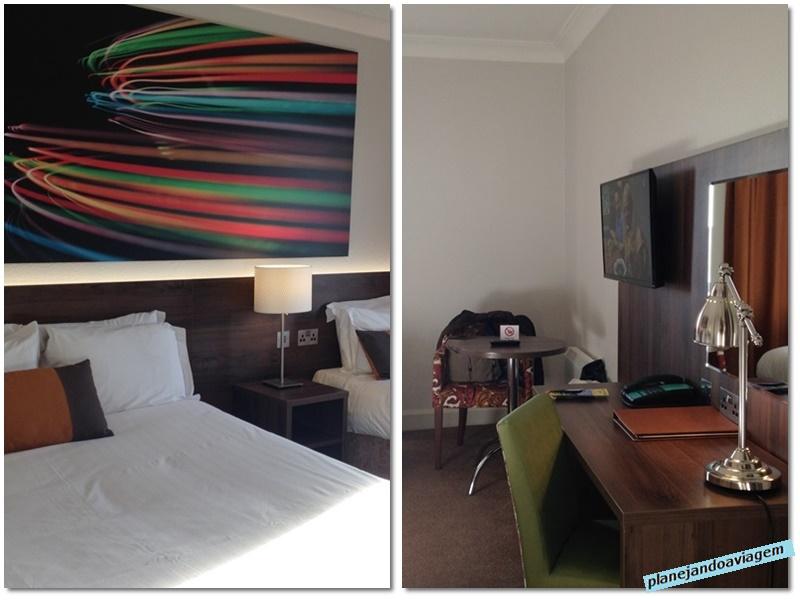 Quarto Hotel Nox em Galway