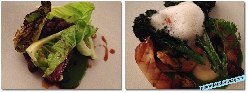 Restaurante Loam em Galway - segundo prato