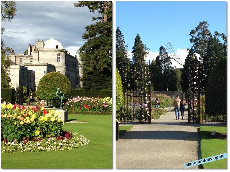 Powercourt - palacio e jardins