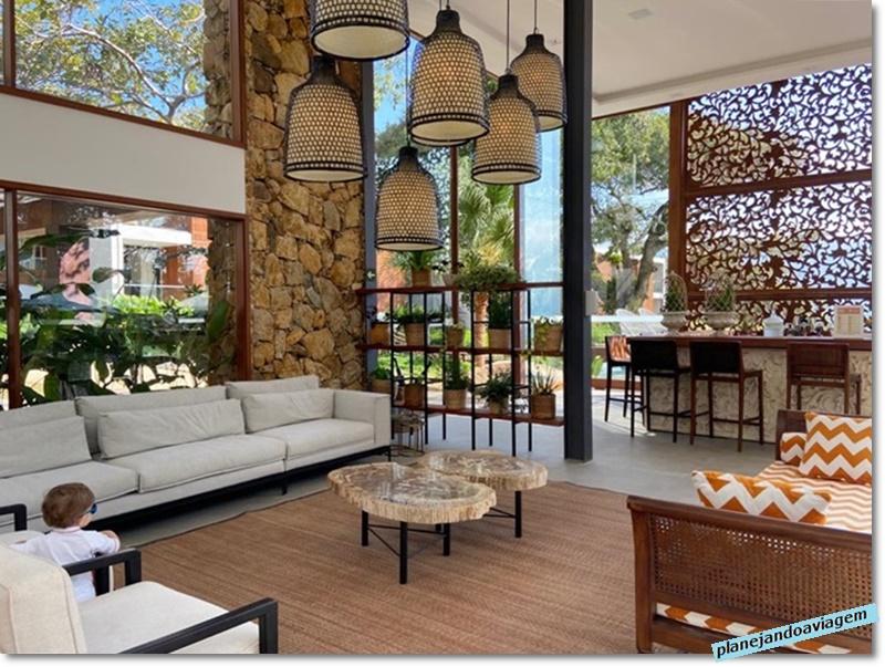 Hotel Casa di Sirena - Area de estar na Recepcao