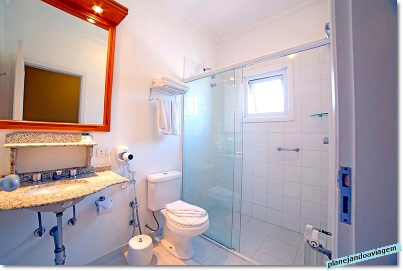 Campos do Jordao - Hotel Villaggio Italia - Banheiro