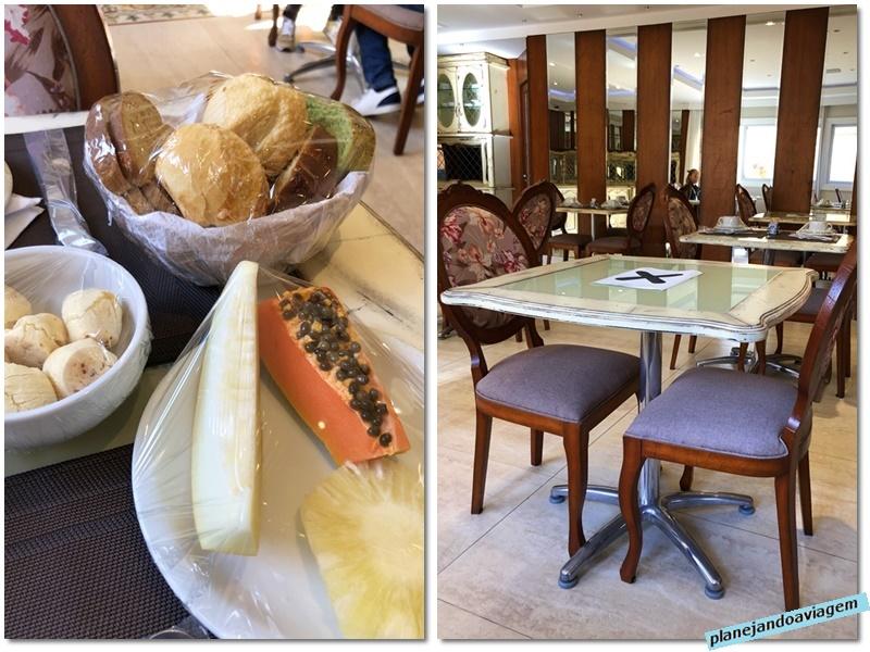 Campos do Jordao - Hotel Italia Eleganza - Cafe da Manha