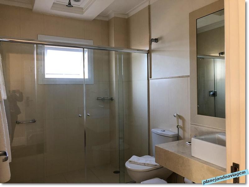 Campos do Jordao - Hotel Italia Eleganza - banheiro