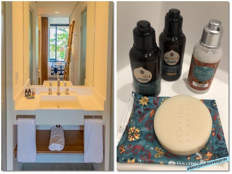 Acomodacao Suite Casal - Banheiro - amenities