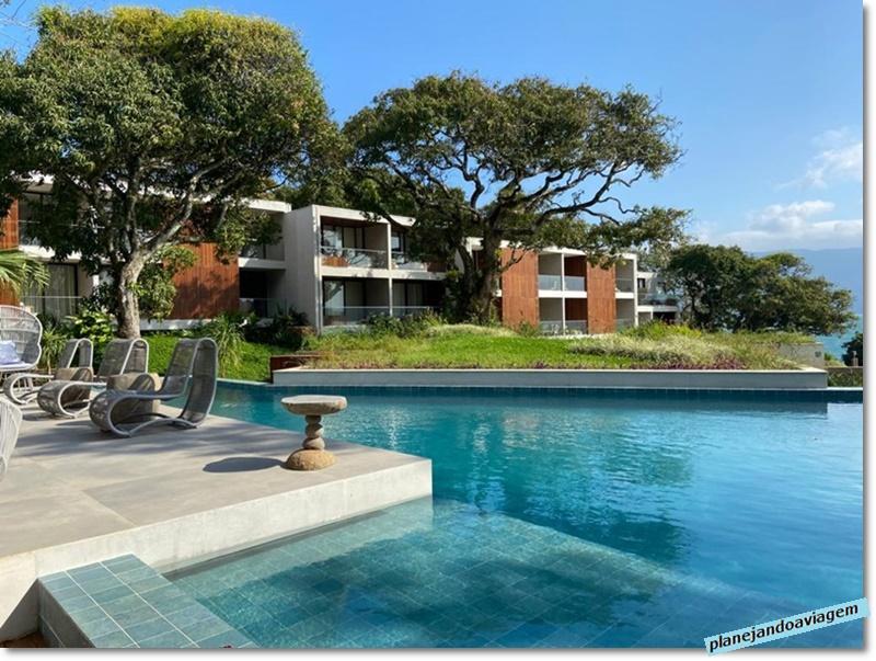 Hotel Casa di Sirena - Area piscina e quartos