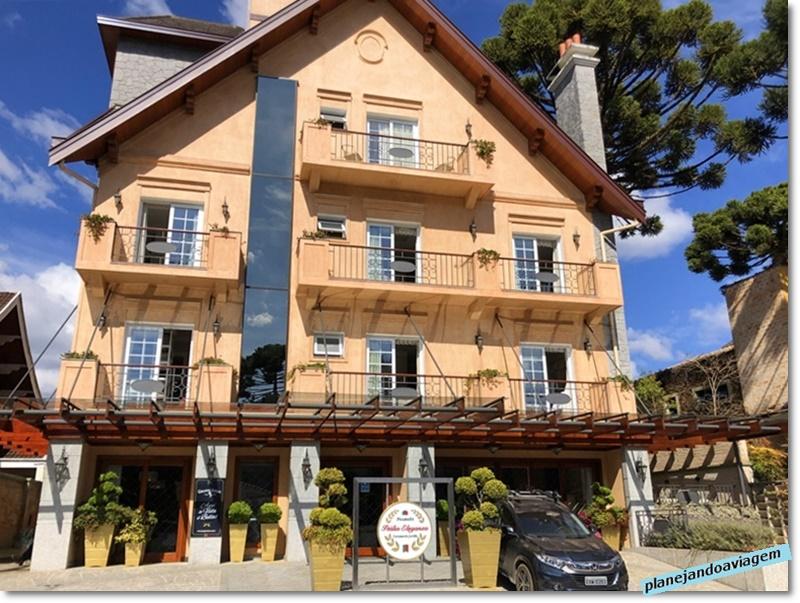 Campos do Jordao - Hotel Italia Eleganza - Fachada