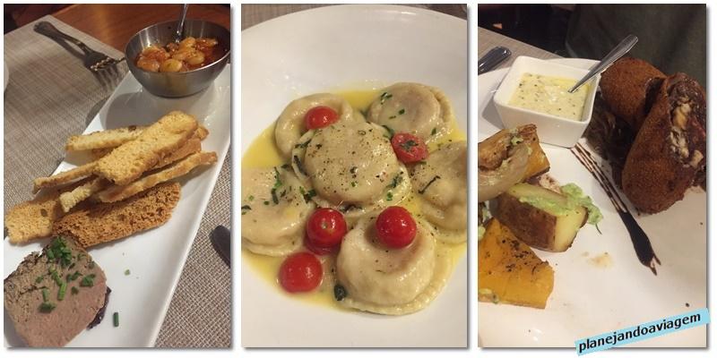 Montevideu - Restaurante Francis - Entrada e pratos principais