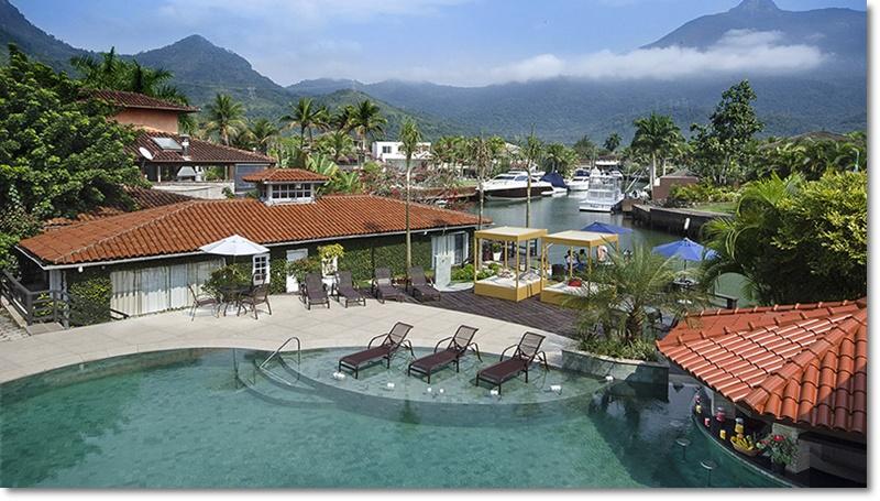 Angra Boutique Hotel - Vista do canal