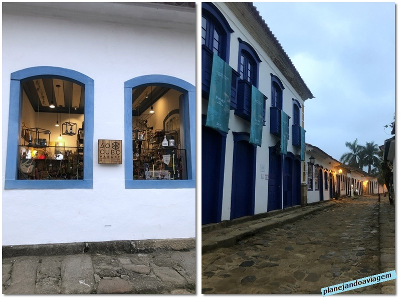 Paraty - museu e loja no centro historico