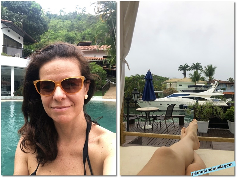 Angra Boutique Hotel -chill out na area piscina