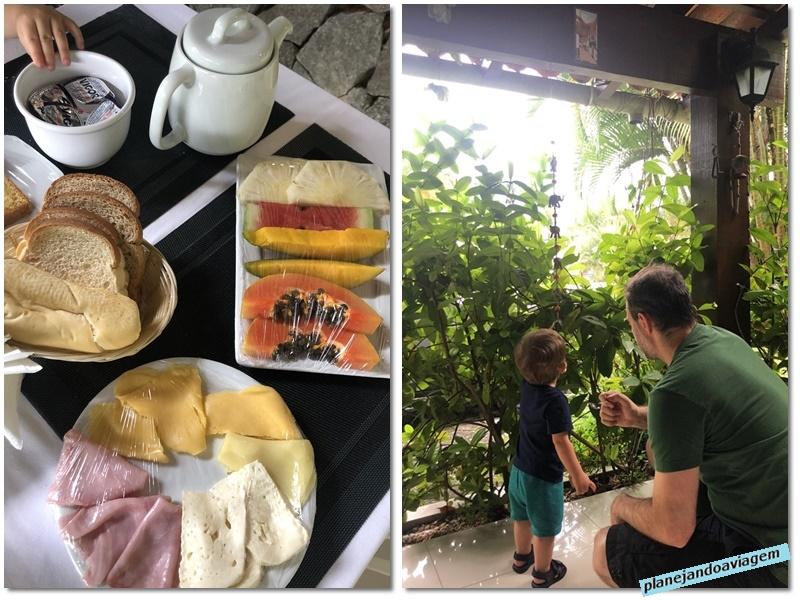 Angra Boutique Hotel - area cafe da manha e cafe da manha