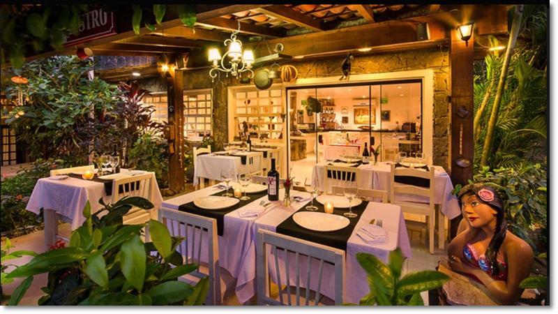 Angra Boutique Hotel -Recepcao, area cafe da manha e restaurante