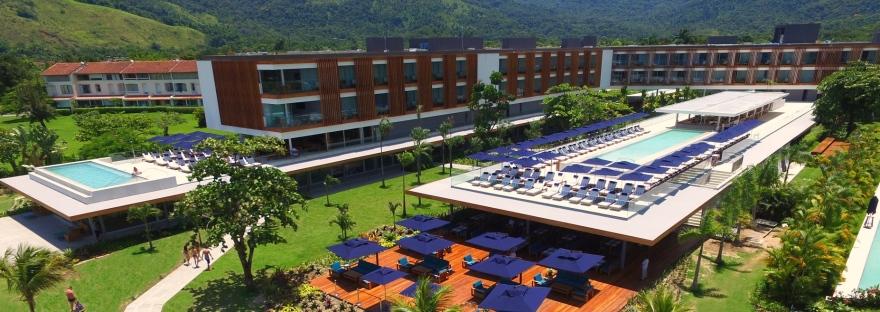Vista aerea Hotel Fasano Angra dos Reis