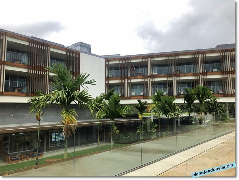 Hotel Fasano Angra dos Reis visto da area do Restaurante Marea