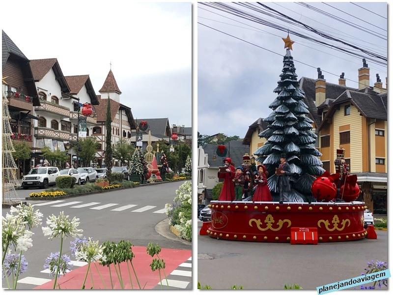 Gramado - cidade decorada para o Natal