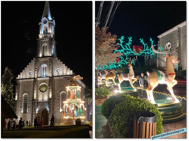 Gramado - Catedral e Rua das Renas