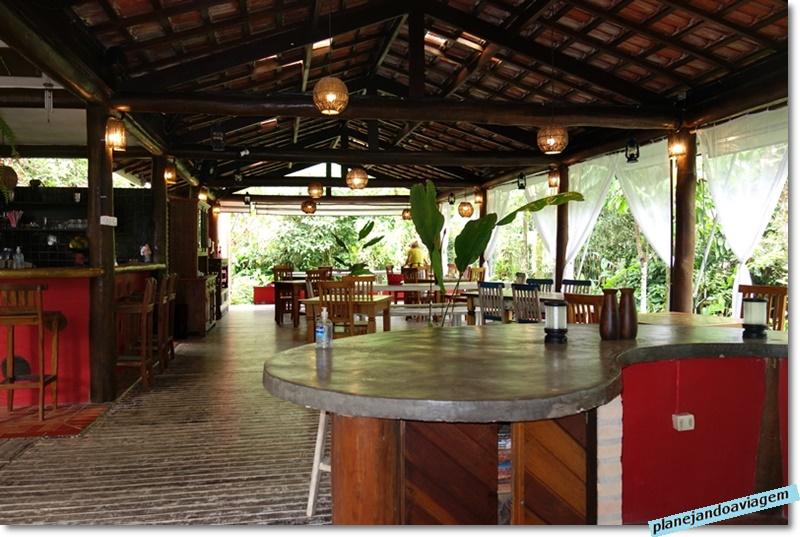 Villa Manakas - restaurante - interior