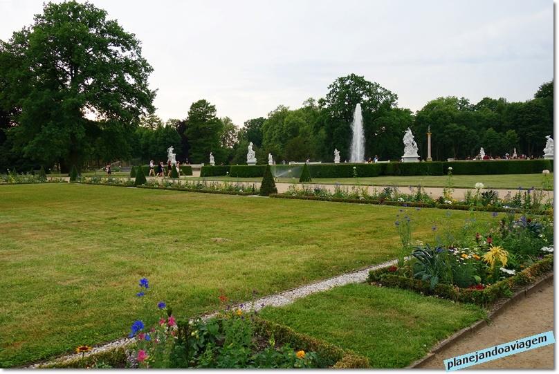 Jardins em Sanssouci