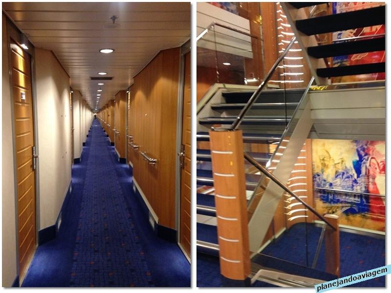 Stena Britannica - interior do navio-ferry